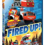 Nickelodeon Blaze and the Monster Machines: Fired Up! on DVD