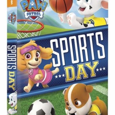 PAW Patrol: Sports Day! on DVD