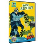 Wild Kratts: Wild Reptiles on DVD