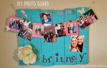 DIY Photo Board