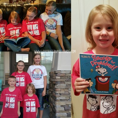 Peanuts Rock the Vote Prize Pack Giveaway