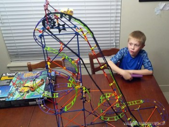 Christmas list TOP TOY: K'NEX Wild Whiplash Roller Coaster