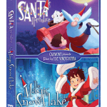 'Santa's Apprentice' and 'The Magic Snowflake' arriving as a special DVD double feature today