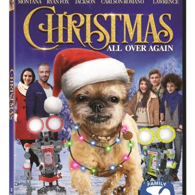 Lionsgate Christmas All Over Again arrives on DVD, On Demand, and Digital HD today!