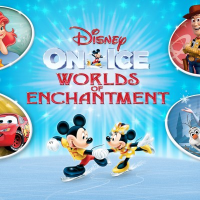Disney On Ice presents Worlds of Enchantment coming to Salt Lake City, Utah March 9-12, 2017