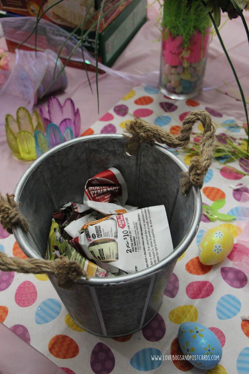 DIY Easter Centerpieces