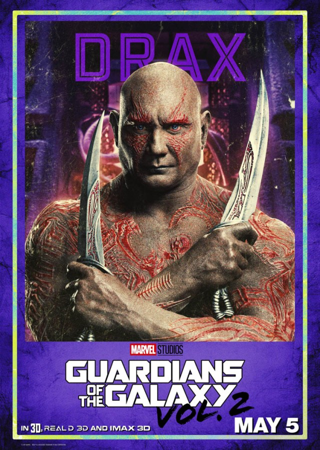 Guardians of the Galaxy Vol. 2 trailer + Character Posters #GotGVol2