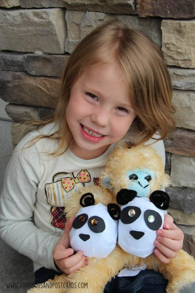 Surprise Ball Panda Bear Craft