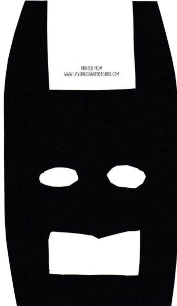 Lego Batman Mask Printable - Lovebugs and Postcards