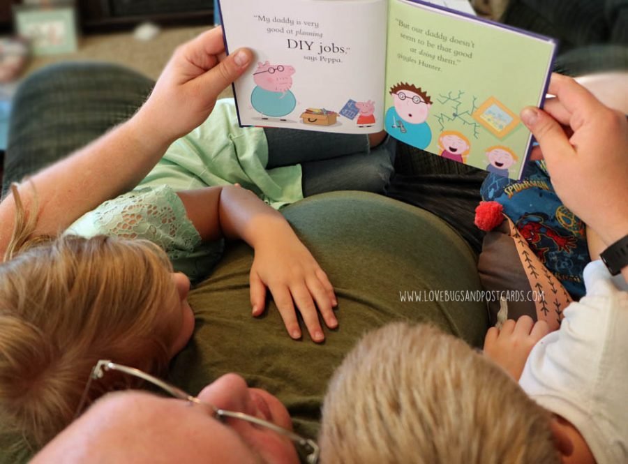 Special Peppa Pig Daddy & Me Book is the perfect gift