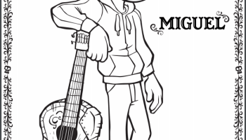 Disney Pixars COCO Coloring Pages PixarCoco