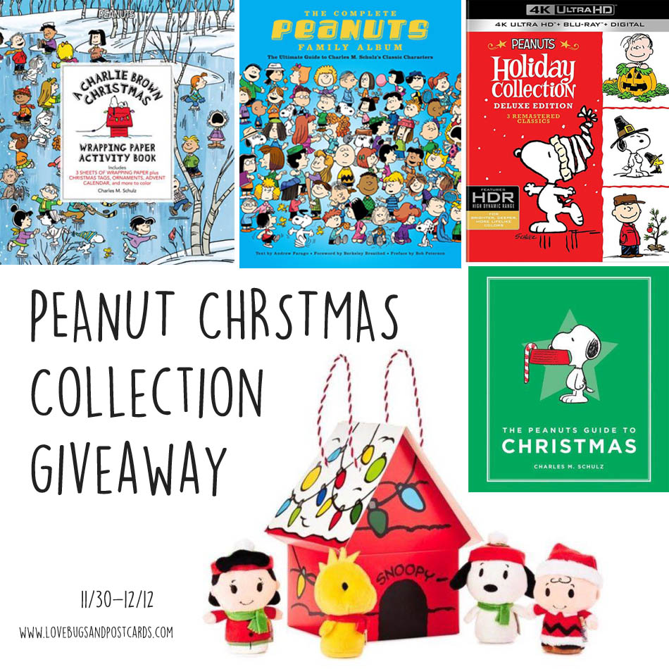 Peanuts Christmas Collection Giveaway - Lovebugs and Postcards