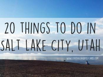20 things to do in Salt Lake City, Utah