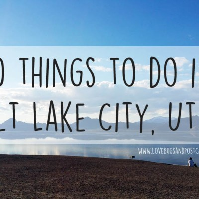20 things to do in Salt Lake City, Utah