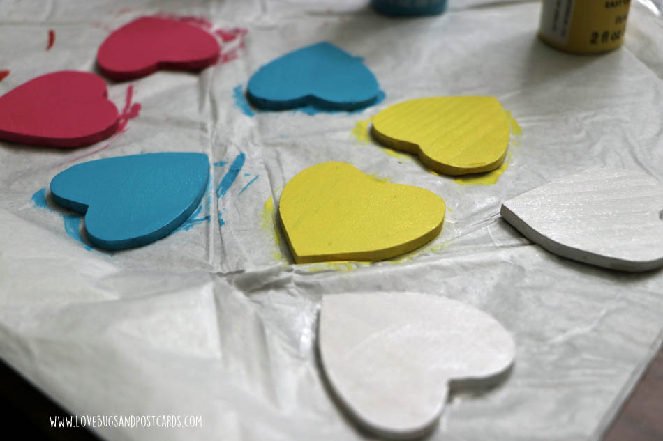DIY Conversation Hearts Board