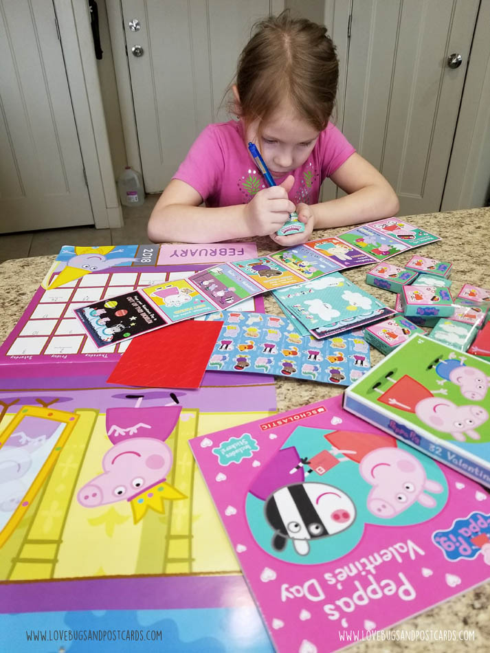 We Just Got A Fun Package From Peppa Pig And My Daughter Was So Excited To  Open It! She Has Read The Peppau0027s Valentineu0027s Day Book From Scholastic A  Dozen ...