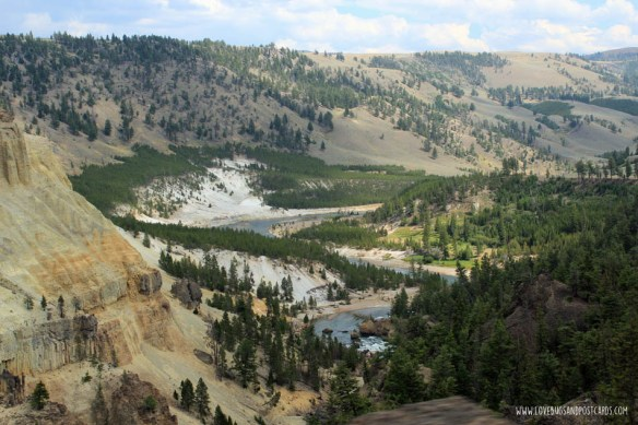 Tower Falls & Calcite Springs - Yellowstone National Park