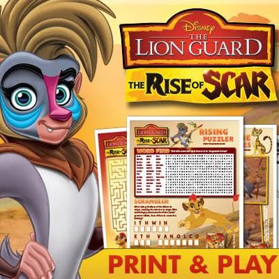 Disney's The Lion Guard: The Rise of Scar