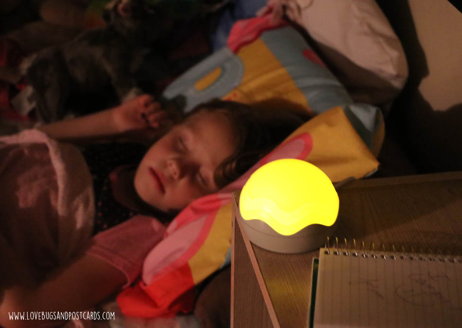 Using the SleepBuddy to get your child to sleep through the night in their own room