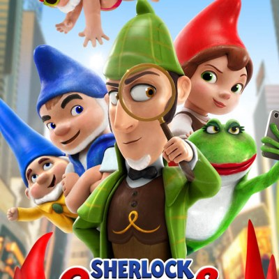SHERLOCK GNOMES is in theaters March 23, 2018   #SherlockGnomes