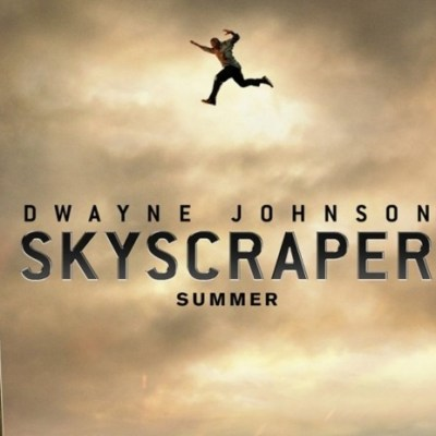 Dwayne Johnson stars in SKYSCRAPER, in theaters this July