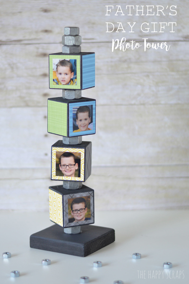 Photo Tower Father's Day Gift