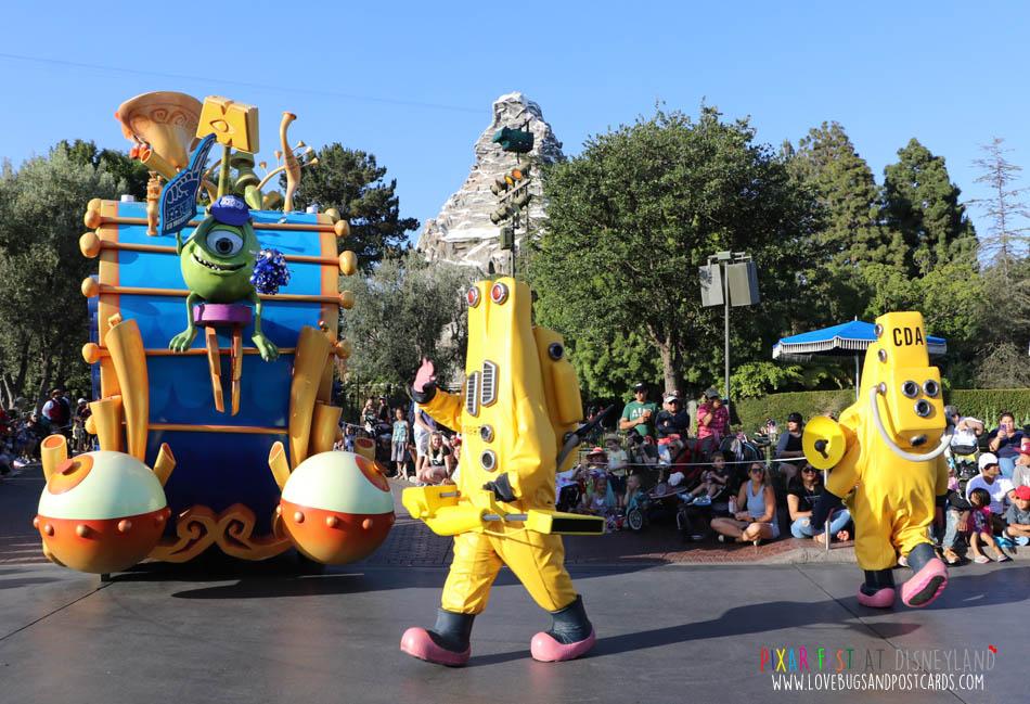 The Pixar Play Parade at Disneyland
