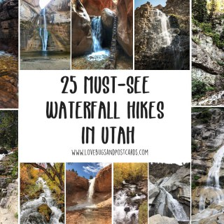 25 must-see Waterfall Hikes in Utah