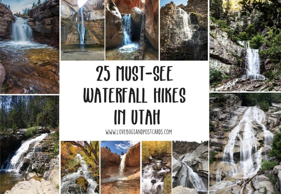 25 must-see Waterfall Hikes in Utah