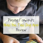 Playing Forward's Maxi the Taxi Dog App