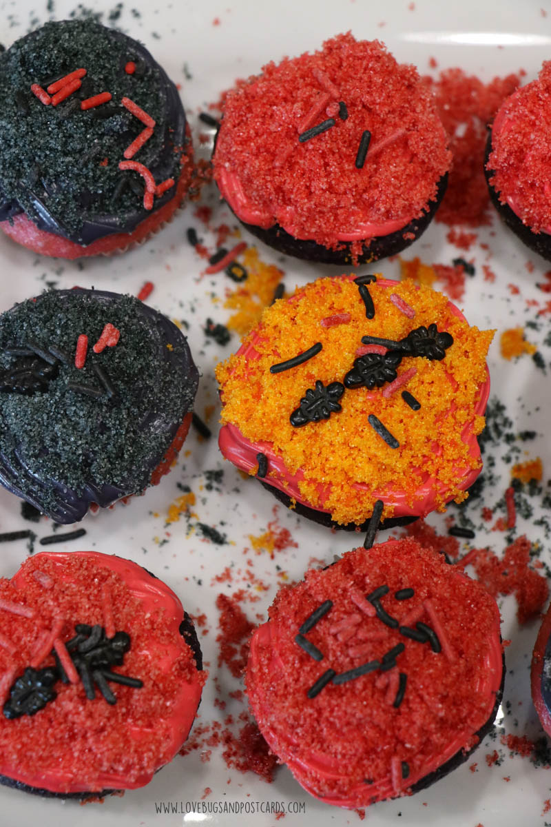 Ant-Man and the Wasp Cupcakes