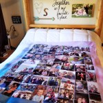 Collage.com Sherpa photo blanket review + giveaway