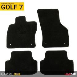tapis sur mesure pour volkswagen golf 7 de 11 2012 a 2021