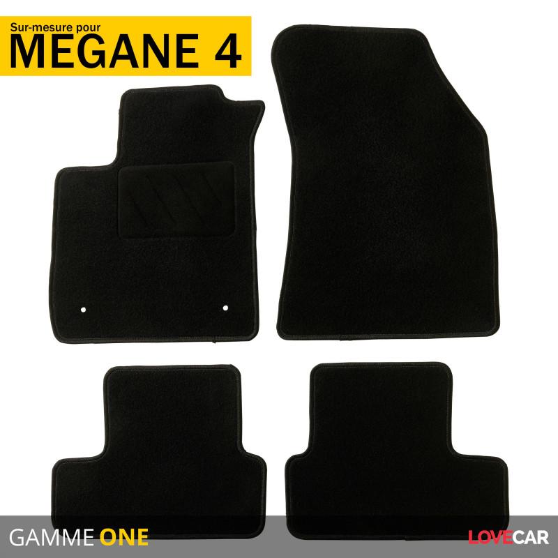 tapis voiture sur mesure pour renault megane 4 de 11 2015 a 2021 one