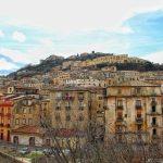 Panorama di Cosenza Vecchia, Calabria