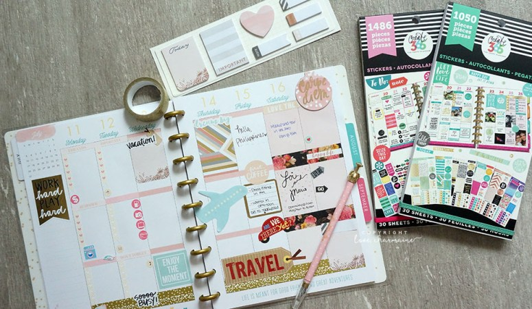Traveling with my Planner (Week #28)