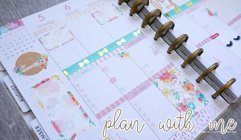 Plan With Me Sunday | Week 36