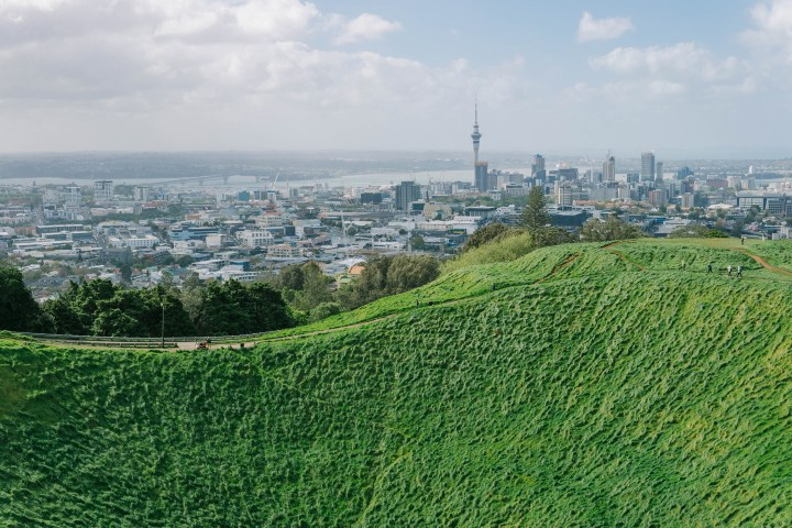 mount eden summit auckland view