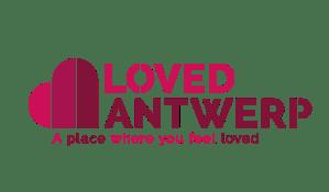 logo loved antwerp