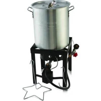 Outdoor Gourmet Pro Turkey Deep Fryer Kit | Best Turkey Fryer Kit