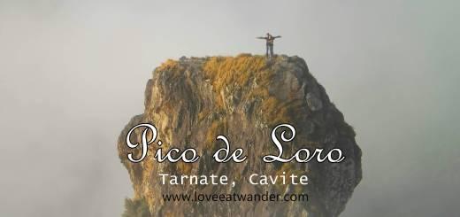Pico de Loro Climb