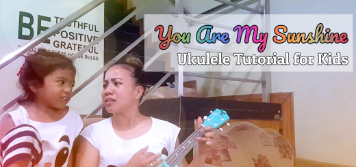 You Are my Sunshine Ukulele Chords