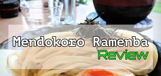 Mendokoro Ramenba Review