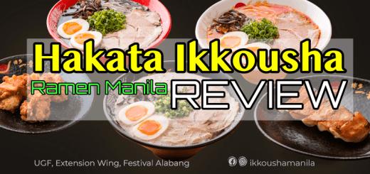 Hakata Ikkousha Ramen Manila