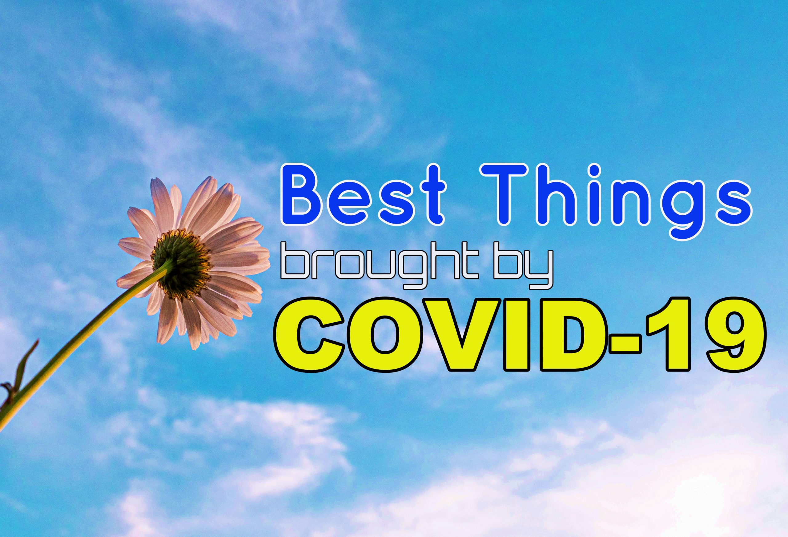 Best Things brought by Covid-19