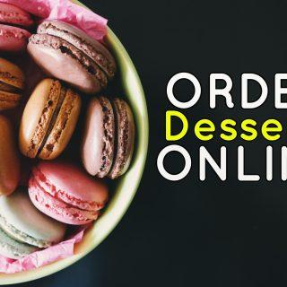 online desserts