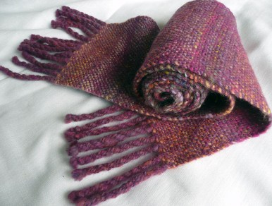 Russet scarf sold