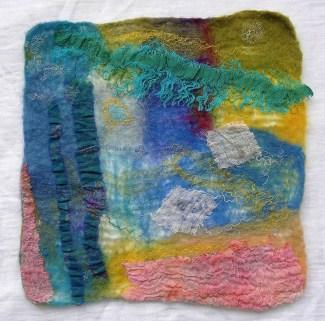 felt abstract
