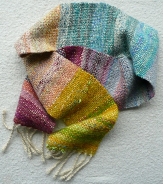 Tiree colours scarf NFS