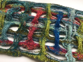 deflected double weave experiment